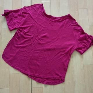 シマムラ(しまむら)のしまむら 袖リボン Tシャツ(Tシャツ(半袖/袖なし))