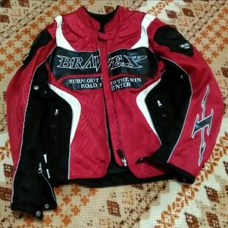 バイク用 ライダース ジャケット メンズ Lサイズ(ライダースジャケット)