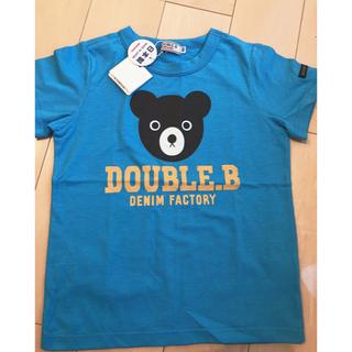 ダブルビー(DOUBLE.B)のDOUBLE.B 100cm 新品未使用(Tシャツ/カットソー)