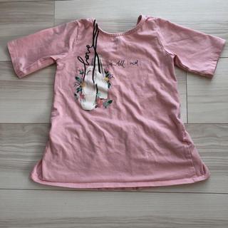 ザラ(ZARA)のZARA Tシャツ ピンク サイズ110 5歳(Tシャツ/カットソー)
