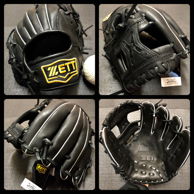 ZETT(ゼット)の◆未使用品 迅速発送◆ ZETT 一般 軟式 野球 グローブ 新品 ボール付き  スポーツ/アウトドアの野球(グローブ)の商品写真
