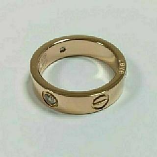ビス リング トラベルジュエリー ピンクゴールドカラー #16.5(リング(指輪))