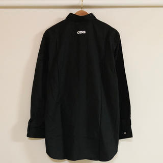 COMME des GARCONS - 新品 送料込コムデギャルソン CDG シャツ ブラック
