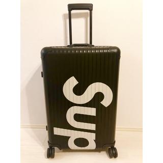 シュプリーム(Supreme)のsupreme×リモワ☆ シュプリーム トパーズ スーツケース(トラベルバッグ/スーツケース)