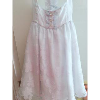 リズリサ(LIZ LISA)のリズリサ サロペットスカート(ひざ丈スカート)