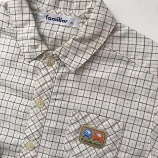 ファミリア(familiar)のfamiliar ファミリア 長袖シャツ サイズ110(Tシャツ/カットソー)