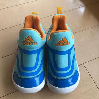 アディダス(adidas)のadidas アディダス キッズ スニーカー 15センチ(スニーカー)