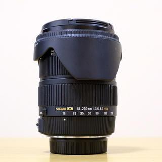 SIGMA 18-200mm F3.5-6.3  DC HSM nikon(レンズ(ズーム))