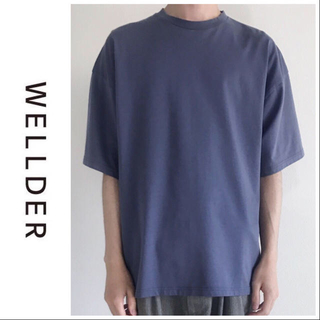 新品 完売 2019SS WELLDER ウェルダー ワイドフィットTシャツ(Tシャツ/カットソー(半袖/袖なし))