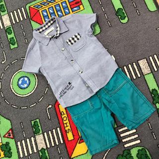 シマムラ(しまむら)の半袖シャツ 80(シャツ/カットソー)
