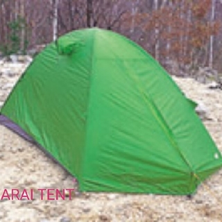 アライテント(ARAI TENT)の新品 ARAI  TENT  エアライズ1 フォレストグリーン アンダーシート付(テント/タープ)