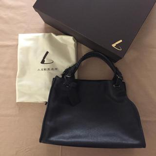 ツチヤカバンセイゾウジョ(土屋鞄製造所)の土屋鞄 トート バッグ 濃紺 本革(トートバッグ)
