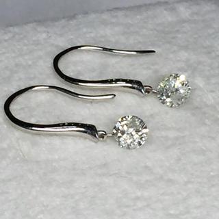 K18 ダイヤモンド ピアス 0.65ct(ピアス)