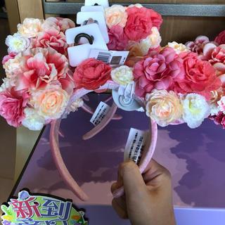 Disney - 上海ディズニーお花フラワーイースターカチューシャ
