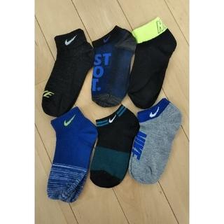 ナイキ(NIKE)のサイズ色々 6足セット NIKE 靴下 キッズ(靴下/タイツ)