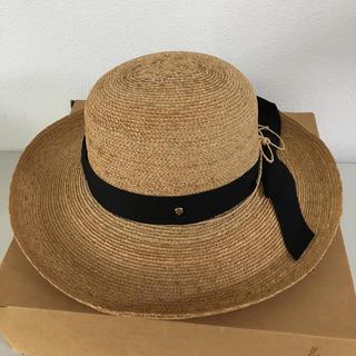 ヘレンカミンスキー(HELEN KAMINSKI)のヘレンカミンスキー 帽子 Lサイズ(麦わら帽子/ストローハット)