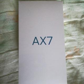 アンドロイド(ANDROID)の新品未開封 oppo ax7 ゴールド(スマートフォン本体)