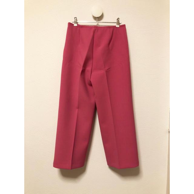 Jil Sander(ジルサンダー)のJIL SANDER NAVY ワイドパンツ 34 ピンク系 レディースのパンツ(カジュアルパンツ)の商品写真