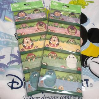 ディズニー(Disney)のディズニーリゾート限定 ディズニー・イースター メモ 2点(ノート/メモ帳/ふせん)