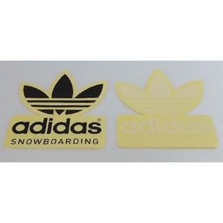 アディダス(adidas)のadidas製ステッカー 非売品 白色黒色2色セット アディダス(アクセサリー)