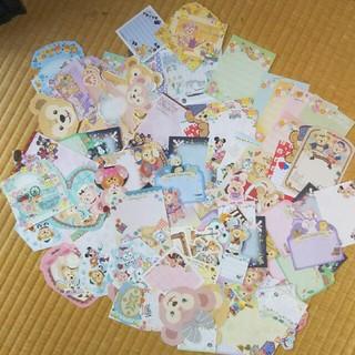 ディズニー(Disney)のディズニー ダッフィーフレンズ バラメモ90(ノート/メモ帳/ふせん)