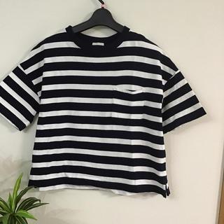 ジーユー(GU)のGU ボーダーシャツ♡美品です♡(Tシャツ(長袖/七分))