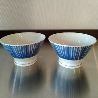 ムジルシリョウヒン(MUJI (無印良品))の無印 波佐見焼くらわんか飯碗 茶碗(食器)