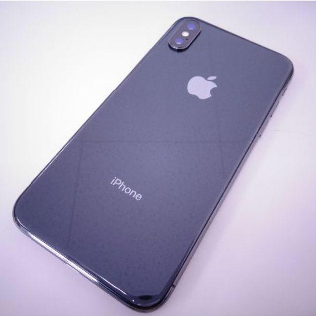 Apple(アップル)の◇iPhone X 64GB Gray au◇ スマホ/家電/カメラのスマートフォン/携帯電話(スマートフォン本体)の商品写真