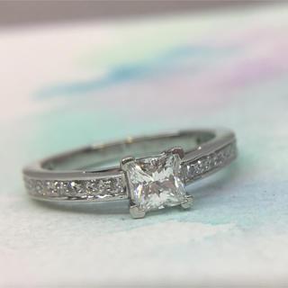 ティファニー(Tiffany & Co.)の最終値下 ティファニー プリンセスカット 0.25ct IF EX ダイヤ 指輪(リング(指輪))