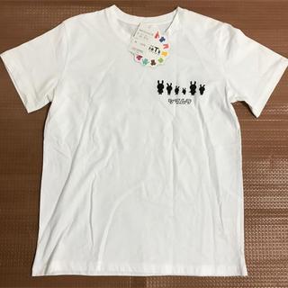 シマムラ(しまむら)のしまむら シマウサ モノトーン Tシャツ  レディース Lサイズ(Tシャツ(半袖/袖なし))