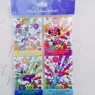 ディズニー(Disney)のディズニーリゾート メモセット(ノート/メモ帳/ふせん)