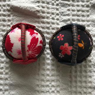 エコクラフト  ピンクッション2個セット  6番(雑貨)