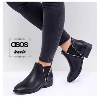 エイソス(asos)のショートブーツ (ブーツ)