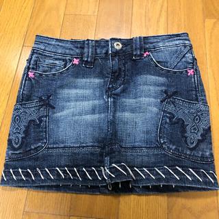 アンティークデニム(ANTIK DENIM)のkids  ANTIKDENIMのデニムスカート140〜150(スカート)