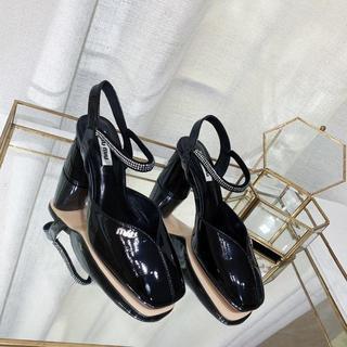 miumiu - MIUMIU ミュウミュウ  靴/シューズ ハイヒール パンプス サンダル