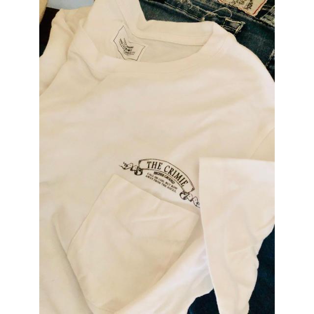 CRIMIE(クライミー)のセルフ サービス ポケT メンズのトップス(Tシャツ/カットソー(半袖/袖なし))の商品写真