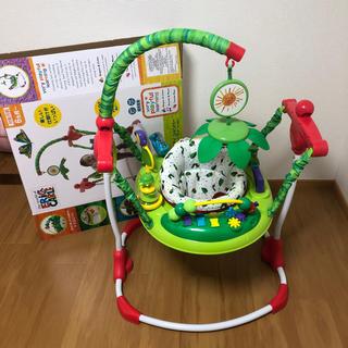 ニホンイクジ(日本育児)のはらぱこあおむし ジャンパルー  知育玩具 アクティビティ ジャンパー (知育玩具)