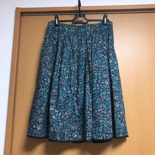 AMACA - 三陽商会 アマカ  リバティ柄スカート 2.5万