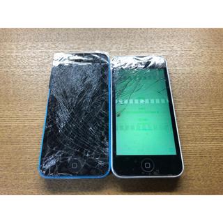 アップル(Apple)の② iPhone 5c ジャンク セット(スマートフォン本体)