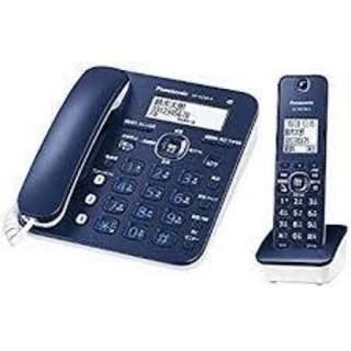 パナソニック(Panasonic)のパナソニック 電話機 RU・RU・RU VE-GZ30DL-A ネイビーブルー(その他 )