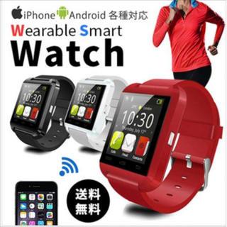 高性能スマートウォッチ Android iPhone 日本語説明書付 (腕時計(デジタル))