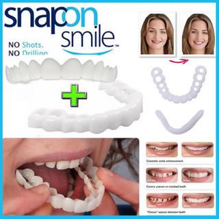 米国で人気の歯にかぶせるカバーです。  気になる歯の悩みを緊急カバー(口臭防止/エチケット用品)