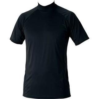 ゼット(ZETT)の新品ZETTハイネック半袖アンダー1720定価2592黒(ウェア)