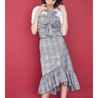 dazzlin - dazzlin パッチワークチェックイレヘムスカート