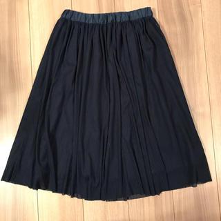 chocol raffine robe - スカート ネイビーブラックストライプ フリーサイズ