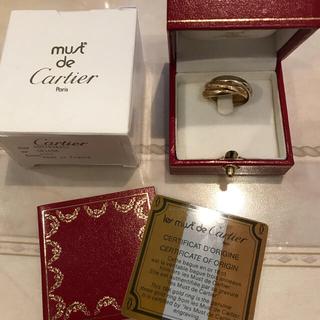 カルティエ(Cartier)の【正規品】Cartier トリニティ リング 三連 サイズ9号(リング(指輪))