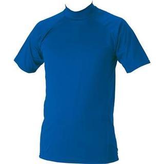 ゼット(ZETT)の新品ZETTハイネック半袖アンダー1720定価2592Rブルー(ウェア)
