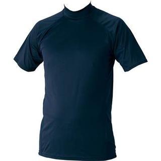 ゼット(ZETT)の新品ZETTハイネック半袖アンダー1720定価2592紺(ウェア)