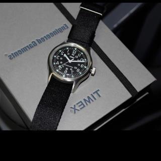 タイメックス(TIMEX)のbeams boy 20周年限定モデル timex camper キャンパー(腕時計(アナログ))