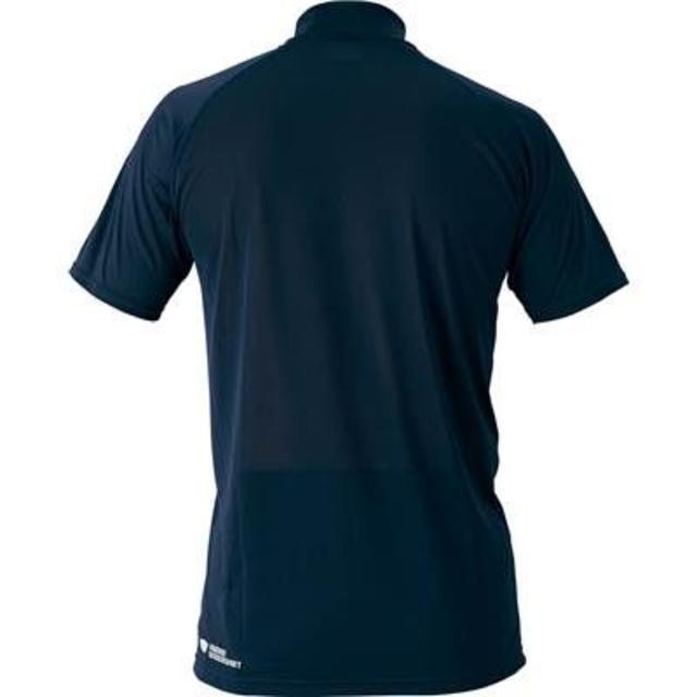 ZETT(ゼット)の新品ZETTハイネック半袖アンダー1720定価2592エンジ スポーツ/アウトドアの野球(ウェア)の商品写真